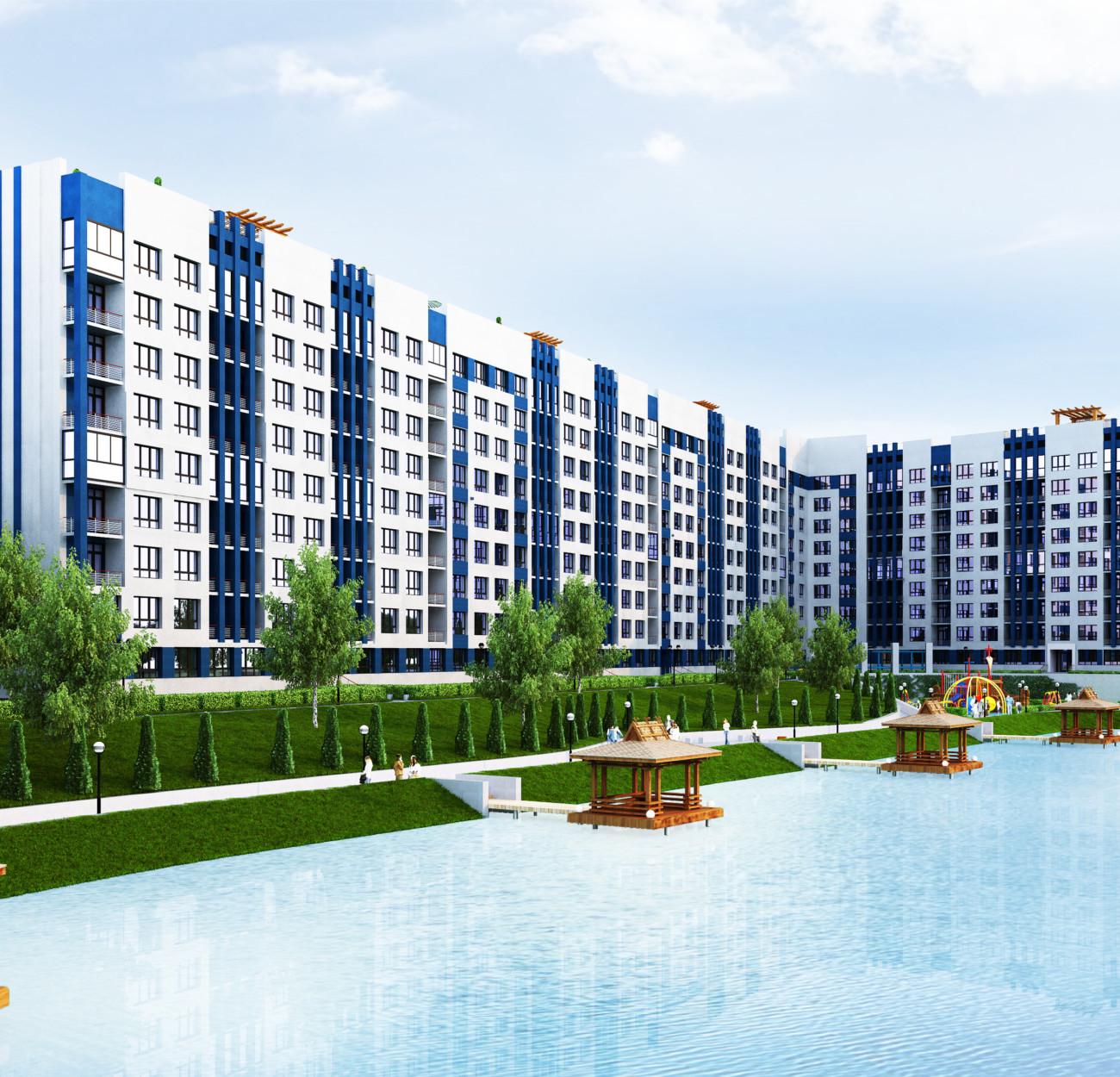 Секція 2 трьохкімнатна квартира (3А) 92,91 м²