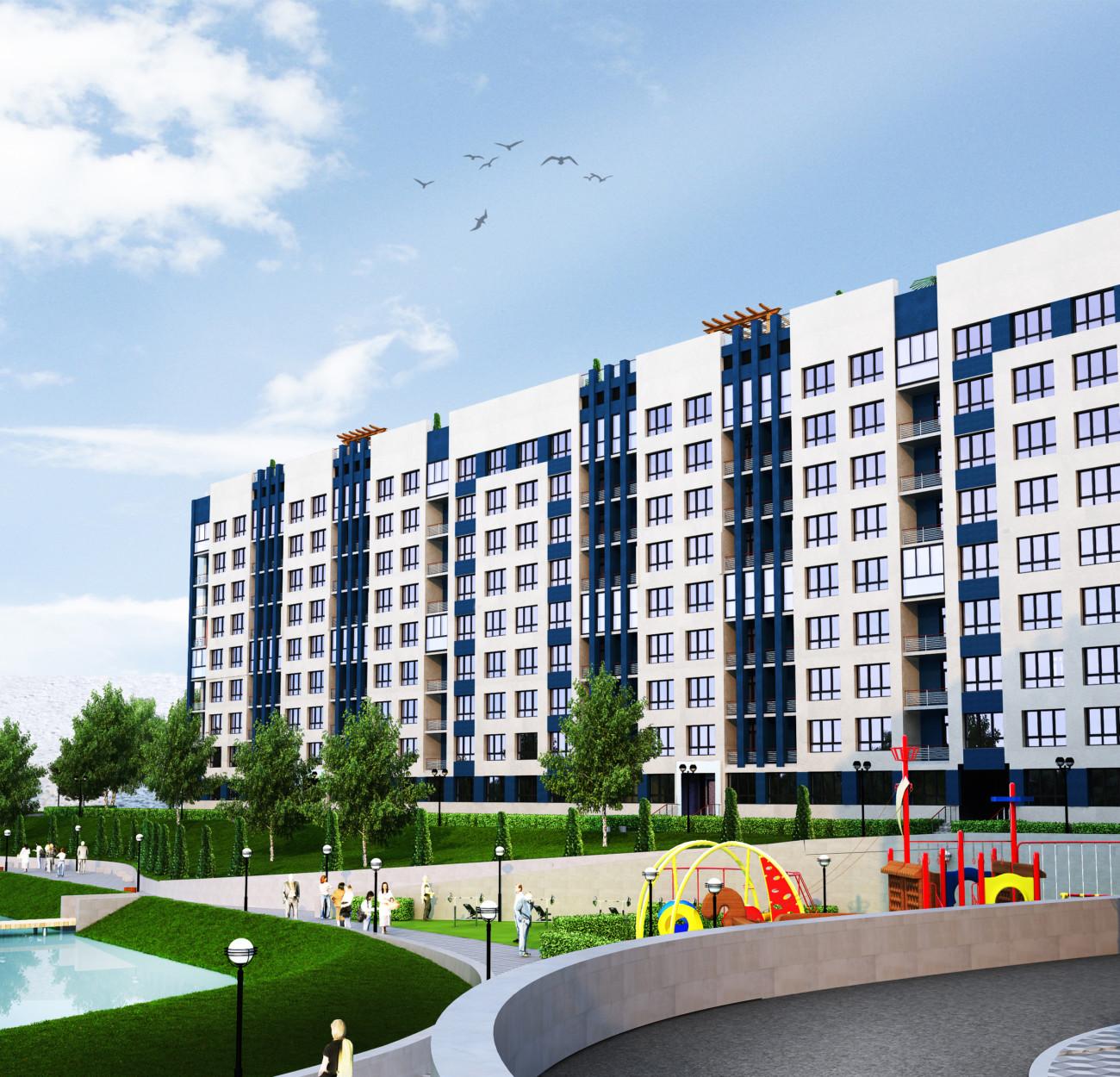 Секція 4 двокімнатна квартира (2А) 88,24 м²