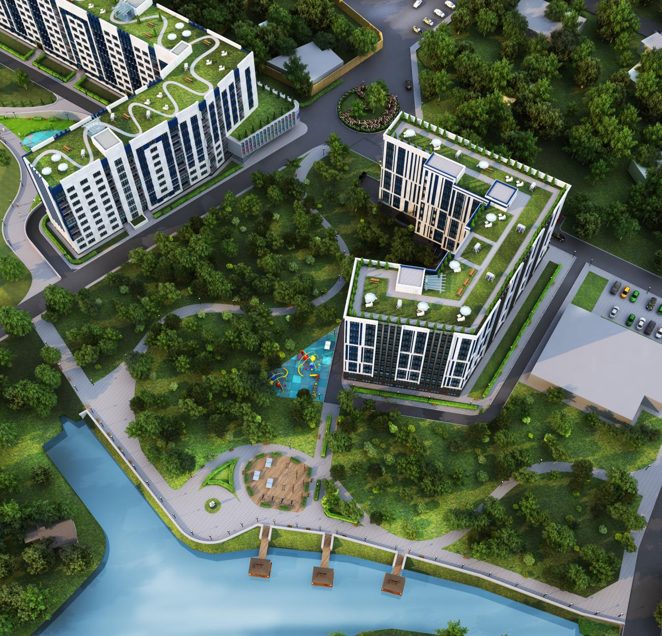 Секція 2 двокімнатна квартира 74,81 м²