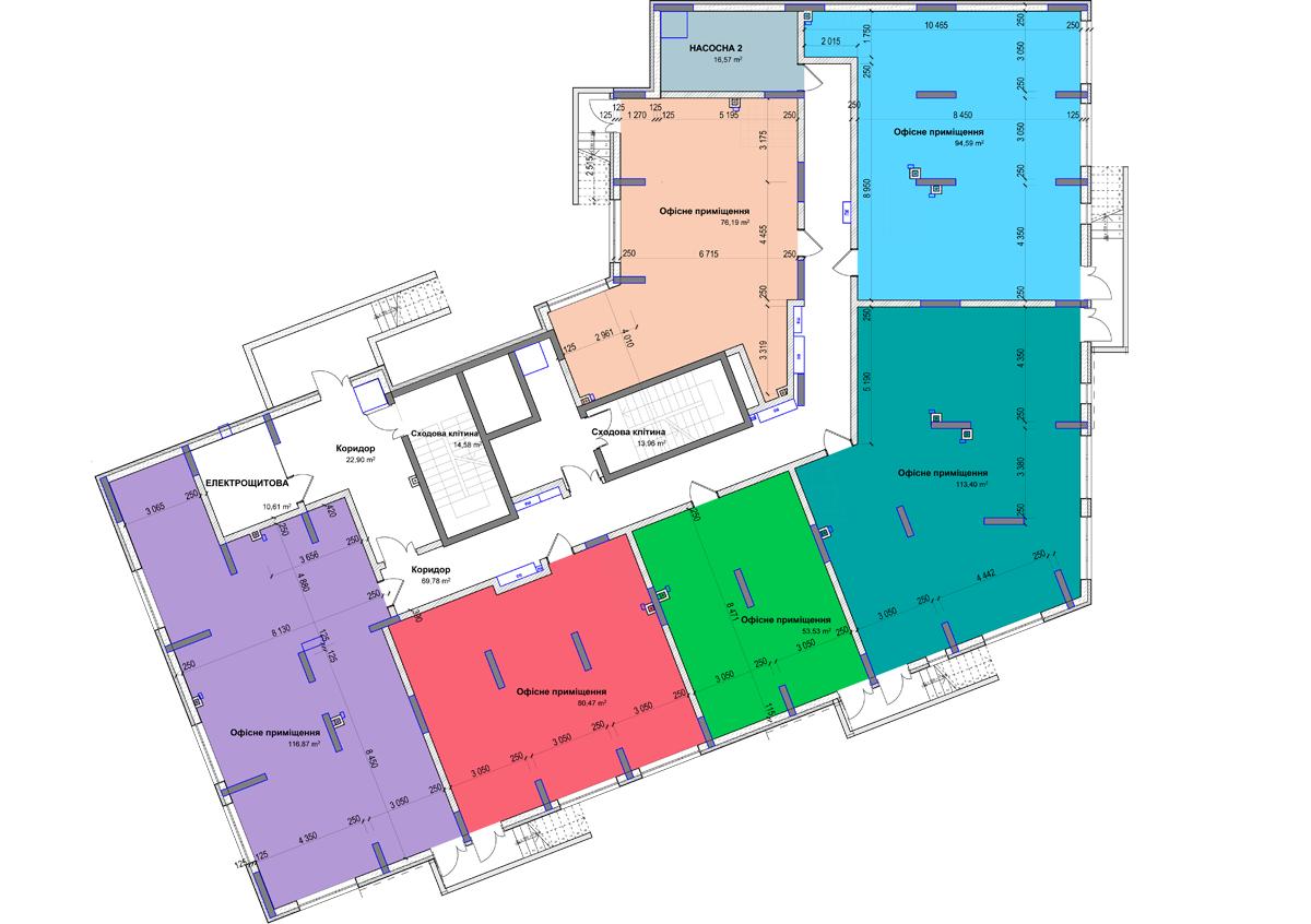 Секція 3 приміщення 80 кв м