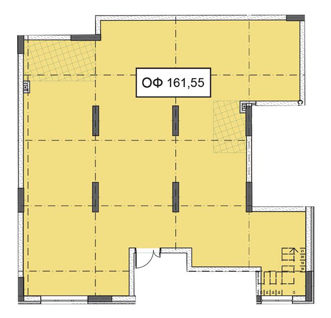 Секція 2 приміщення 161,55 кв м