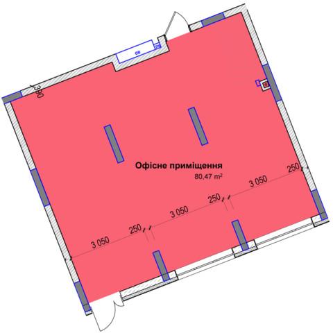 Секция 3 помещение 80кв м