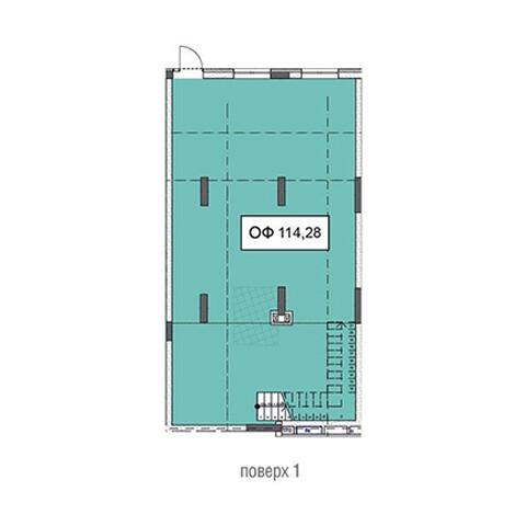 Секція 3 приміщення 114,28 кв м