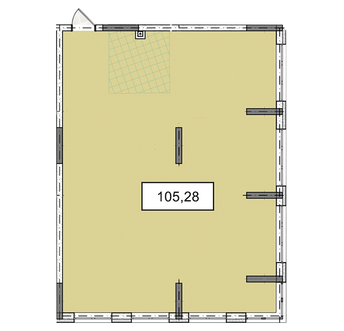 3-6 поверхи офіс 105,28 м.кв.