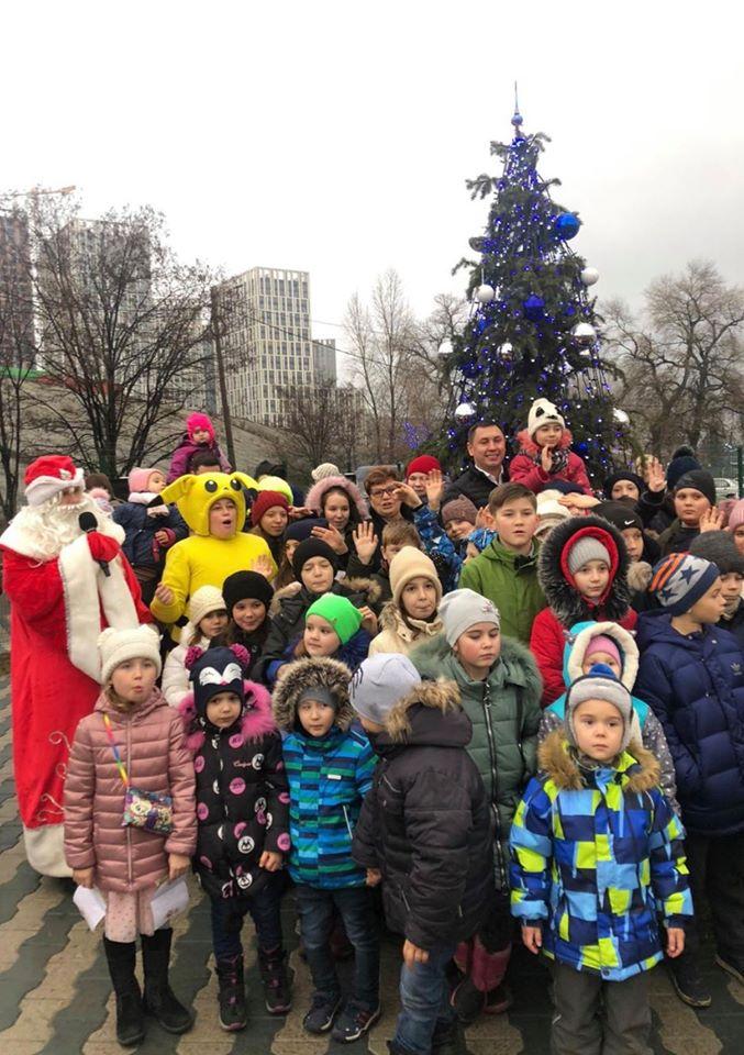 Дід Мороз вже відвідав ЖК «Рів'єра»!